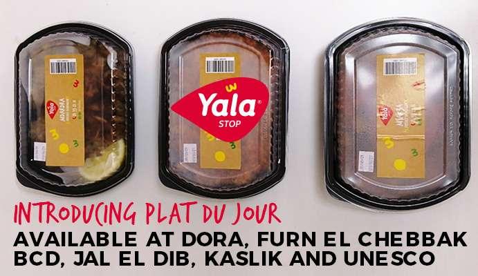 New menu items yala